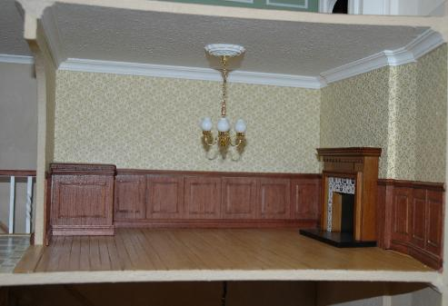 georgian miniatre dollshouse interior