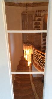 deco dollshouse chandelier light