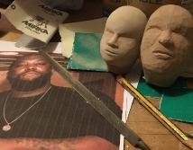 Run the Jewels puppets carving