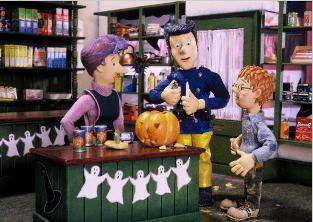 Fireman Sam animation Halloween