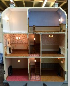 Victorian dollshouse interior